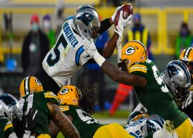 Can't-Miss Play: Packers DENY Bridgewater's goal-line leap for massive turnover