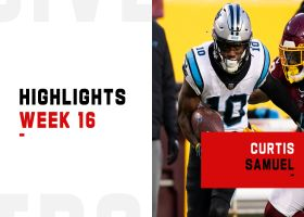 Curtis Samuel's biggest plays from 158-yard game | Week 16