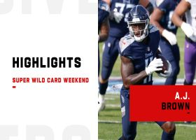 Every A.J. Brown catch against the Ravens | Super Wild Card Weekend