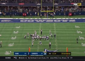 Kai Forbath's first FG with Cowboys is 50-yard MOONSHOT