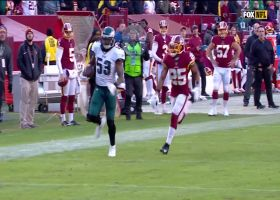 Scoop-and-score TD at the buzzer! Nigel Bradham is on the dot for Eagles