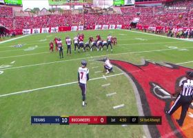 Texans execute fake FG for perfect punt