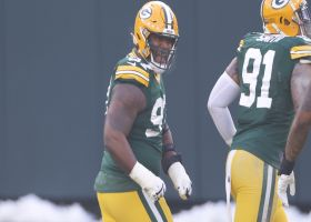 Kenny Clark engulfs Tom Brady for Packers' first sack