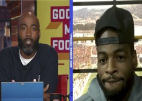 Najee Harris reacts to praise from HOF RB Jerome Bettis
