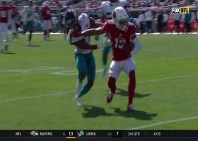 Murray drops 33-yard dime to Kirk in perfectly between defenders