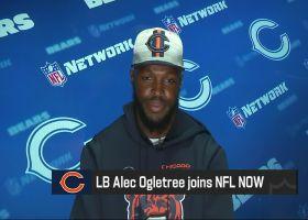 Bears LB Alec Ogletree shares impressions of Justin Fields so far