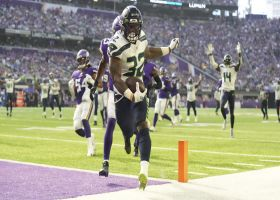 Chris Carson finds another gear on speedy 30-yard TD sprint