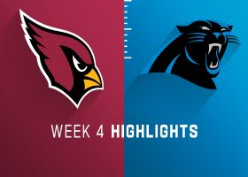 Cardinals vs. Panthers highlights | Week 4