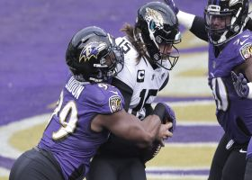 Matthew Judon sacks Gardner Minshew II for early safety