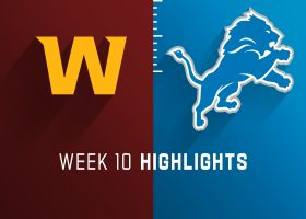 Washington vs. Lions highlights | Week 10
