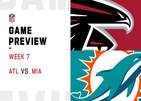 Falcons vs. Dolphins preview | Week 7