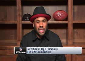 Steve Smith Sr.: Two WRs who taught me how to be a professional
