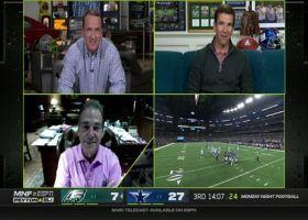Best of Nick Saban with Manning bros on 'MNF' | Week 3