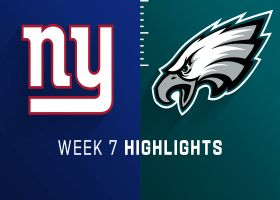 Giants vs. Eagles highlights | Week 7