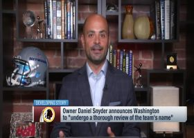 Garafolo: Washington Redskins name change 'likely,' might take 'a couple weeks'