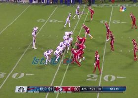 Josh Allen makes Chiefs defense pay with easy 12-yard keeper