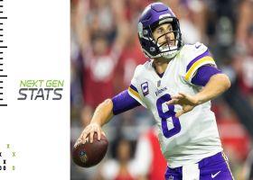 Vikings' top 5 plays through quarter mark of 2021 season | Next Gen Stats