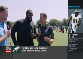 Fletcher Cox discusses the 'winning mentality' behind Philadelphia Eagles' defensive line
