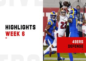 Best plays by the 49ers' defensive backs vs. Rams | Week 6