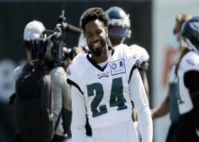 First look: Darius Slay wearing No. 24 jersey at Eagles camp