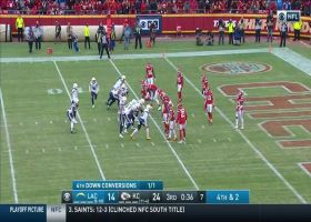 Chiefs stuff Gordon in red zone for fourth-down stop