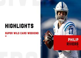 Philip Rivers' best throws from 2-TD game | Super Wild Card Weekend
