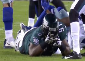 Fletcher Cox shuts down reverse-pass attempt with sack