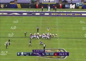 Justin Tucker nails 51-yard field goal to send Ravens into halftime