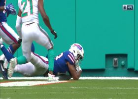 Can't-Miss Play: Gabriel Davis dives for incredible catch for first NFL TD