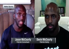 McCourty twins share reaction to Pats signing Cam Newton