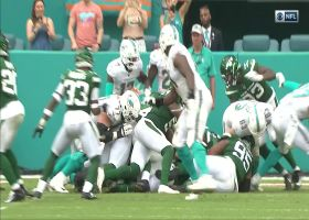 Dolphins' odd QB kneel/sneak attempt results in safety