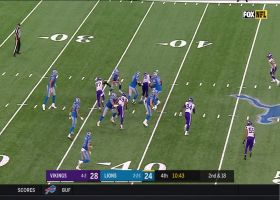 Everson Griffen unleashes stutter-step for sack