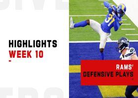 Rams' best defensive plays from strong win vs. Seahawks | Week 10