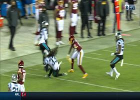 Tre Boston matches Washington's INT with one of his own on next play