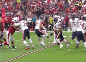 Robert Nkemdiche hits ball from Trubisky's hands, forces fumble