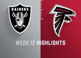Raiders vs. Falcons highlights | Week 12