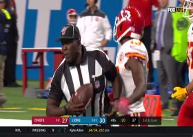 Pringle spins down to third-yard line to put Chiefs in scoring range
