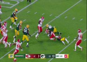 Chiefs' Lucas makes interception, putting K.C. in scoring territory