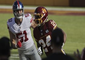 Hot-potato fumble alert! Giants recover after wild sequence