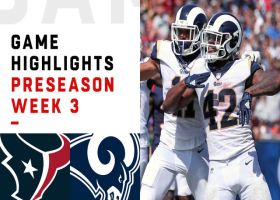 Houston Texans vs. Los Angeles Rams highlights | Preseason Week 3