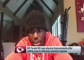 Tyreek Hill: I expect 'crazy' results in 2020 with new yoga routine