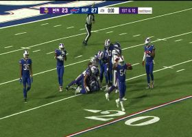 Jake Browning's last-second launch codes intercepted by Bills