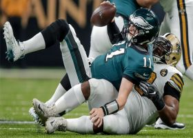 Rankins engulfs Wentz for big third-down sack