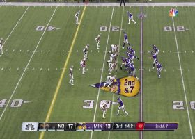 See Minnesota Vikings wide receiver Laquon Treadwell extend for catch in 360 degrees | True View
