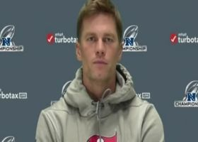 Brady discusses preparation for first NFC championship