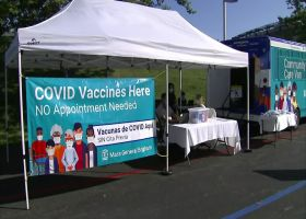 Patriots hosting mobile COVID-19 vaccination site at camp for fans