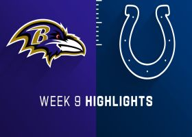 Ravens vs. Colts highlights | Week 9