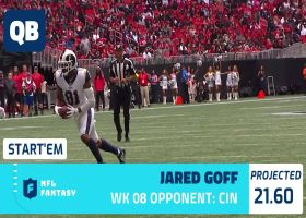 Michael Fabiano's fantasy starts and sits for Week 8