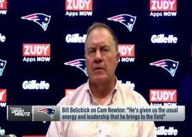Bill Belichick praises Cam Newton's leadership this offseason