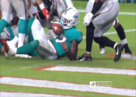Kalen Ballage goes airborne for Dolphins' first preseason TD
